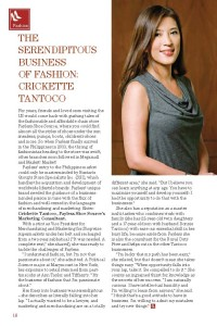 Crickette Tantoco, Marketing Consultant, Payless Shoe Source