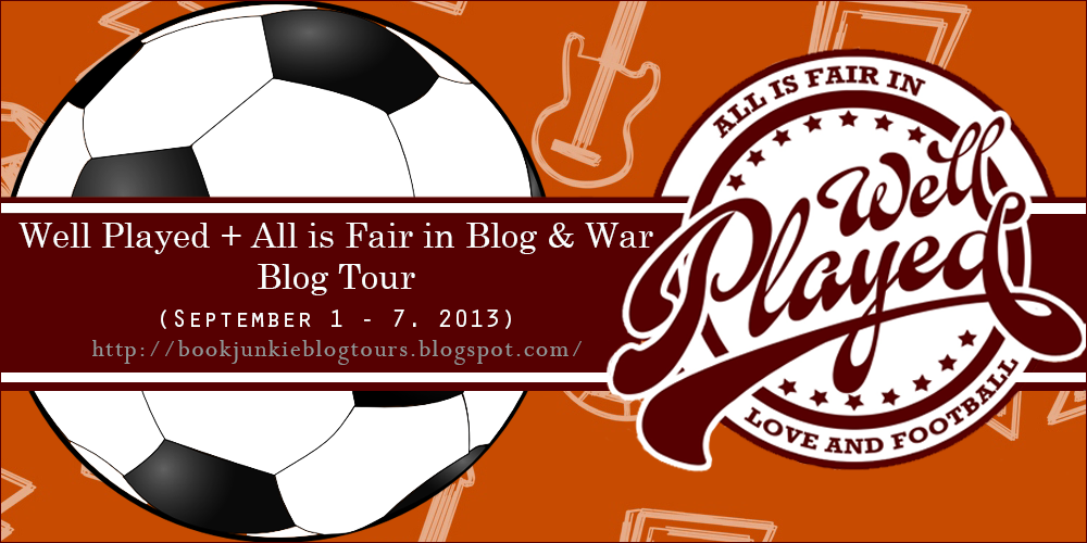 All is Fair in Blog & War Blog Tour